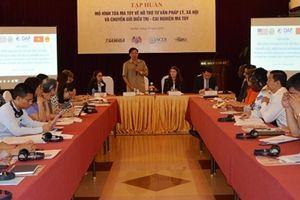 Mỹ chia sẻ kinh nghiệm với Việt Nam trong công tác điều trị người nghiện ma túy