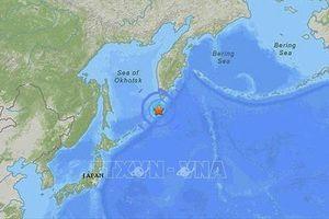 Động đất 6,8 độ tại Kuril của Nga