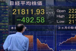 Phố Wall bán tháo, chứng khoán châu Á lao dốc