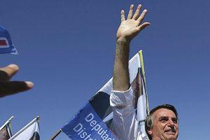 Ứng cử viên Bolsonaro dẫn đầu trước thềm bầu cử Tổng thống Brazil