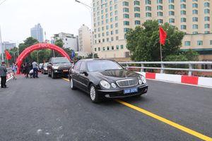Cầu vượt An Dương - Thanh Niên hơn 300 tỷ đồng ở Hà Nội chính thức thông xe