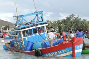 Tàu câu mực bị chìm ở Trường Sa, 44 ngư dân Quảng Nam may mắn thoát chết