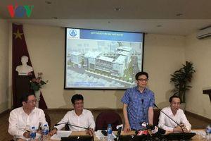 Phó Thủ tướng Vũ Đức Đam làm việc với Bệnh viện Nhi Đồng 1 TP.HCM