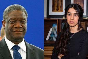 Nobel Hòa bình 2018: Giải thưởng cho các nữ nạn nhân của xung đột