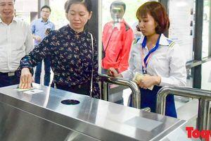 Hà Nội: Buýt nhanh BRT áp dụng công nghệ vé điện tử thông minh