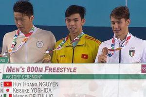 Olympic trẻ 2018: Kình ngư Việt Nam đạt Huy chương vàng, phá kỷ lục quốc gia