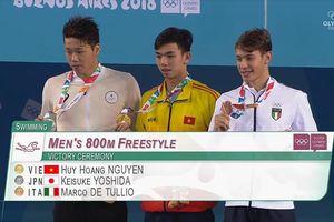 Kình ngư tuổi teen giành HCV Olympic trẻ cho Việt Nam