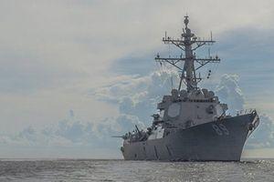 Tàu chiến USS Ross của Mỹ đến Israel lần đầu tiên sau 20 năm