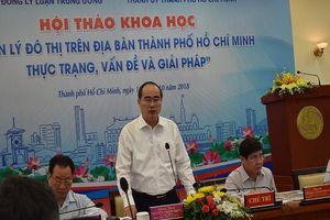 TP.HCM tìm giải pháp gỡ 'nút thắt' cho đô thị