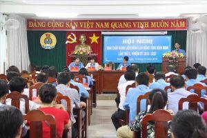 LĐLĐ tỉnh Bình Định tổ chức Hội nghị Ban chấp hành LĐLĐ tỉnh lần thứ 3, khóa XIII