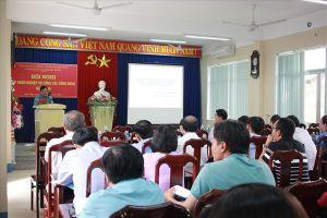 Công đoàn ngành Xây dựng Đà Nẵng tổ chức tập huấn nghiệp vụ công tác công đoàn cho cán bộ ngành