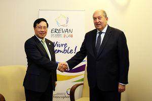Phó Thủ tướng Phạm Bình Minh hội kiến Tổng thống, Thủ tướng Armenia
