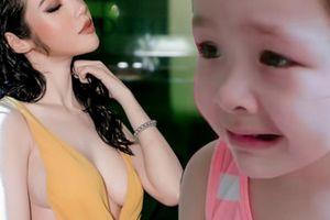 Clip: Elly Trần phạt con gái đọc 'thần chú' vì đánh em cực yêu