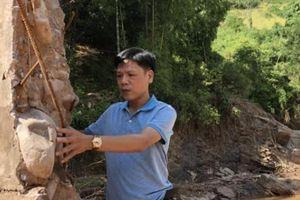 Điện Biên: Mưa lũ phát lộ chuyện thi công kém chất lượng