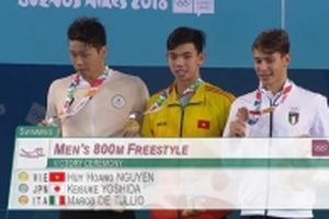 Nguyễn Huy Hoàng giành HCV thứ hai cho đoàn Việt Nam