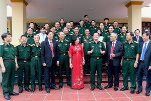 Tiếp nối truyền thống 'Thần tốc - Quyết thắng', xây dựng quân đoàn vững mạnh toàn diện