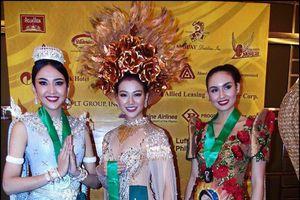 Nguyễn Phương Khánh đoạt Huy chương Vàng trang phục dân tộc Miss Earth 2018