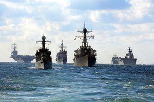 Tàu 015-Trần Hưng Đạo tham gia duyệt binh tàu quốc tế tại Hàn Quốc