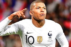 Mbappe ghi bàn ở phút cuối, Pháp thoát thua trước Iceland