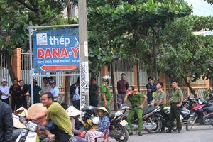 Đà Nẵng: Người dân tiếp tục 'vây' nhà máy thép ở Hòa Liên