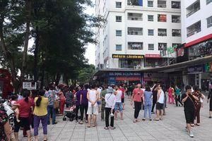 Cháy ở chung cư Linh Đàm, hàng trăm người nháo nhác