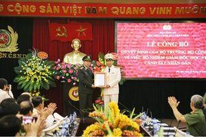 Đại tá, GS.TS Trần Minh Hưởng giữ chức vụ Giám đốc Học viện CSND