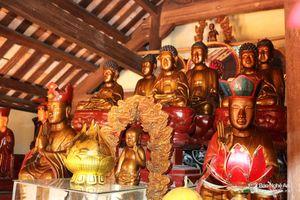 Chiêm ngưỡng hệ thống hiện vật quý tại chùa cổ trăm tuổi ở Nghệ An