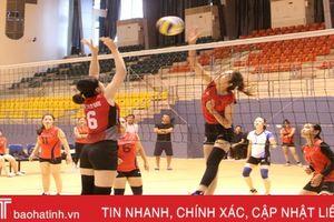 TX Kỳ Anh vô địch Giải Bóng chuyền nữ Đại hội TDTT Hà Tĩnh