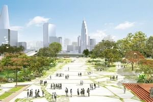 Khu Thủ Thiêm sắp có quảng trường mang tên Hồ Chí Minh
