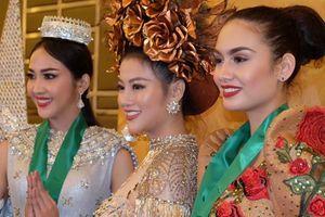 Đại diện Việt Nam thắng phần thi trang phục dân tộc Miss Earth 2018