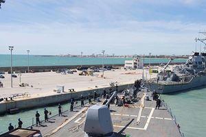 Tàu chiến Mỹ lần đầu cập cảng Israel trong vòng gần 20 năm qua