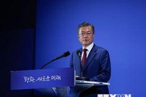 Tỷ lệ ủng hộ Tổng thống Hàn Quốc Moon Jae-in tiếp tục tăng