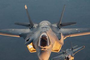 Hình ảnh chiến đấu cơ F-35 đắt giá của Mỹ vừa bị cấm bay