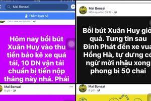 Điều tra vụ nhà báo bị đe dọa trên facebook