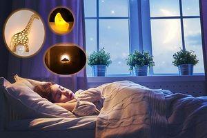 Mách mẹ cách chọn đèn ngủ đẻ bé ngủ một mạch đến sáng, ngừng quấy khóc giữa đêm
