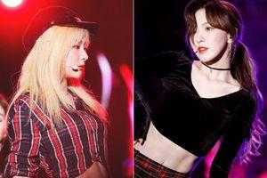 Mới ngày nào còn bụ bẫm, giờ Wendy (Red Velvet) đã có cơ bụng săn chắc không kém gì Seulgi