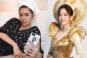 Minh Tú cũng xem Phương Nga thi Miss Grand International và đây là phản ứng bất ngờ của fan Việt