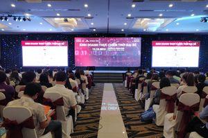 Sự kiện 'Kinh doanh thực chiến thời đại số' hút người tham dự