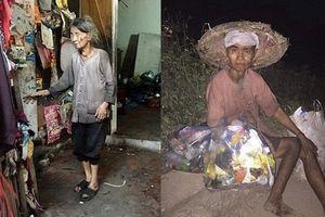Cảnh sống khốn khổ đến bần cùng giữa Hà Nội: Mẹ già mù lòa 88 tuổi chăm con điên dại