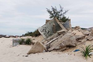 Thừa Thiên Huế: Sạt lở nặng ở bờ biển Phú Thuận, dân lo âu