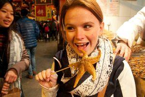 Sao biển chiên giòn - món ăn vừa đẹp vừa ngon ở Trung Quốc