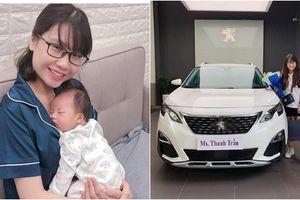 Hậu vượt mặt Sơn Tùng 'hot mom' Thanh Trần tiếp tục gây chú ý khi khoe tậu xế hộp tiền tỷ
