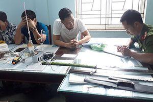 Gia Lai: Nhóm thanh niên bị tạm giữ vì sử dụng ma túy