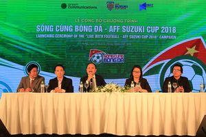 VOV và VTC3 sẽ là hai kênh phát sóng chính thức giải bóng đá AFF Suzuki Cup 2018