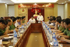 Đoàn công tác của Ban Chỉ đạo cải cách tư pháp Trung ương khảo sát về tình hình thực hiện nhiệm vụ cải cách tư pháp giai đoạn 2016-2018 tại Thanh Hóa