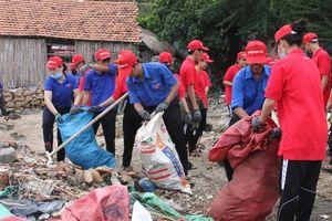 1.282 tấn rác thải được thu gom qua Chiến dịch 'Hãy làm sạch biển'