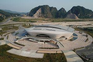Chiêm ngưỡng nhà thi đấu đa năng 5.000 chỗ tại Quảng Ninh