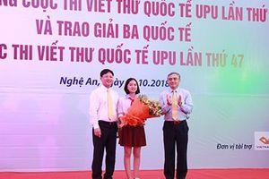Phát động cuộc thi Viết thứ Quốc tế UPU lần thứ 48