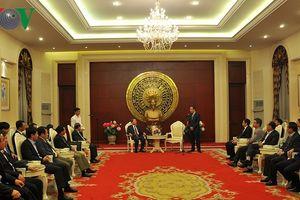 Đoàn đại biểu cấp cao Bộ Công an thăm Đại sứ quán Việt Nam tại Trung Quốc