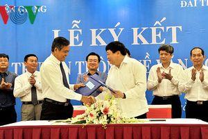 VOV ký hợp tác truyền thông với Kiên Giang về văn hóa du lịch